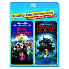 Hotel Transylvania/Monster House (Blu-ray Disc, 2015, 2-Disc Set) NEW SEALED