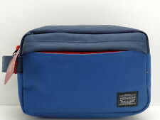 Levi's Men's Travel Kit Navy Blue Shaving Toiletry Case Dopp Bag New!