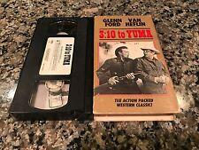 3:10 To Yuma VHS! 1957 Western Classic! Appaloosa True Grit Unforgiven Silverado