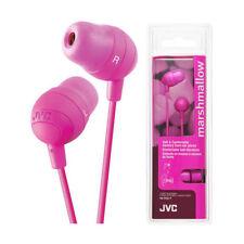 Auricolari e cuffie rosa audio portatile JVC