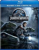 Jurassic World Blu-ray DVD 2015 2 Disc Set