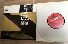 25cm Karl Engel spielt Mozart Piano KV 485 283 397 511 EXC+