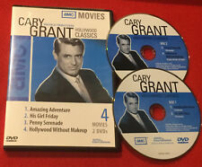 Amazing Adventure | His Girl Friday | Penny Serenade | Cary Grant 4 Films DVD