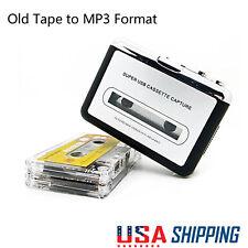 Tape to PC USB Cassette & MP3 Format CD Converter Capture Audio Walkman Player