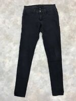 Flying Monkey Women's Gray Cotton Blend Skinny Jeggings Jeans Sz 25