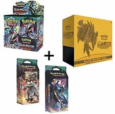 Pokemon Sun & Moon Guardians Rising: Booster Box, Elite Trainer, and Both Theme