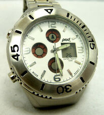 SUPER GREAT CONDITION USED POD 516  MULTI FUCTION 100M WATER RESIST WATCH