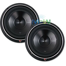 "(2) ROCKFORD FOSGATE P3D2-10 10"" PUNCH P3 DUAL 2-OHM CAR SUB WOOFERS SUBS *PAIR*"