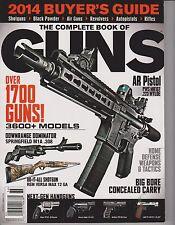 THE COMPLETE BOOK OF GUNS MAGAZINE 2013,2014 BUYER'S GUIDE,SHOTGUNS,BLACK POWDER
