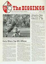 """SF 49er Newsletter,""""The Diggings"""", April 1966"""