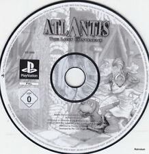 Atlantis Der vergessene Kontinent  (PS1) Einzelne CD, minimale Gebrauchsspuren