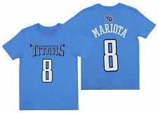Outerstuff NFL Youth Tennessee Titans Marcus Mariota #8 Mainliner Player Jersey