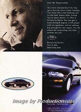 1997 1998 Buick Riviera - Original Advertisement Print Art Car Ad J672