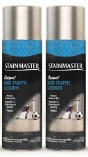 2pc Stainmaster Carpet High Traffic Multi Action Cleaner 22oz Home Office Car RV