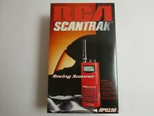 Rca Scantrak 200 Channel Handheld Scanner Combo Pack ~ Brand New Rare Red Color