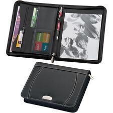 Schreibmappe DINA5 aus Bonded Leather (Lederfaserstoff) Aktenmappe