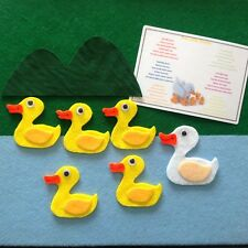 Five Little Ducks Felt Story Teacher Resource