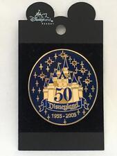 2005 Disneyland 50th Anniversary Light up Castle Pin HTF (lights Still Working)