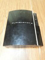 Sony PS3 PlayStation 3 Black Fat Console Only - For parts only as is CECHL01