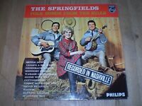 FOLK SONGS FROM THE HILLS, SPRINGFIELDS,VINYL LP ALBUM,1963 ORIGINAL NEAR MINT