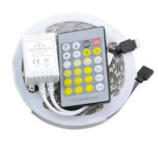 5M 5050 300LEDs Warm/Neutral/Cool White Dimmable LED Strip Light+ IR Controller