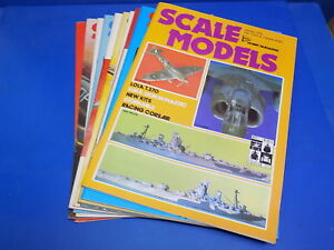 Scale Models International Magazine 1969 - 1979 Select From Back Issues