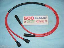 FIAT 500 F/L/R SERIE CAVI CANDELA BOBINA PANDA COLORE ROSSI SPINTEROGENO MOTORE