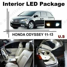 White LED Lights Interior Package Kit for Honda Odyssey 2011-2013 ( 15 Pcs )