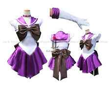 Sailor Moon Sailor Saturn/Hotaru Tomoe Dress Cosplay Clothing Costume,Whole Set