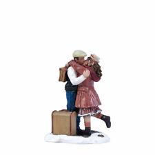 LUVILLE Kissing Goodby, Weihnachtsdorf, Modellbau, Weihnachtsfiguren, Bahnhof,