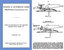 Chauchat 1918 M1915 Mechanism- School of Auto Arms, Calif.