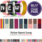 Nylon Sport Band Loop For Apple Watch iWatch Series SE/6/5/4/3/2/1 44/42/40/38mm <br/> 🔥🔥🔥 BUY 1 GET 1 FREE 🔥🔥🔥 ADD 2 INTO CART 🔥🔥🔥