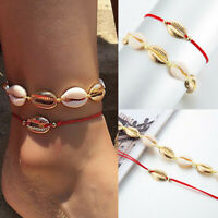 Fashion Jewelry Shell Ankle Bracelet Anklet Chain Foot Beach Sandal For Women