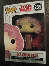 "STAR WARS Vice Admiral Holdo #235 Funko Pop ""The Last Jedi"" VHTF!"