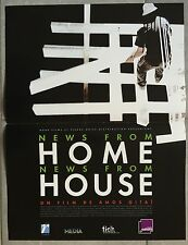 Affiche NEWS FROM HOME NEW FROM HOUSE Amos Gitai 40x60cm *