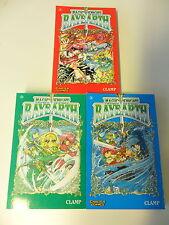3x Comic - Manga Sammlung - Magic Knight Rayearth, Band: 1. 2. 3.