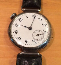 CONCORD SMALL CONVERTED POCKET WATCH--CIRCA 1930'S