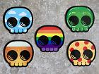 Mike Mitchell Skully Sticker Set Beer Rainbow New Black Box 2018 SDCC NYCC mondo