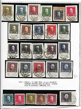 Austria stamps 1916 KuK Fieldpost stamps cancelled LUBLIN  VF