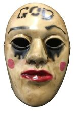 THE PURGE FILM ANARCHY 2 HORROR COSTUME TRAVESTIMENTO MASCHERA WRESTLING ADULTO