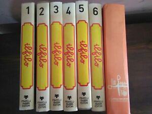 Enciclopedia completa cucito Il Filo 1973 - Fabbri Editore 7 volumi + cofanetto