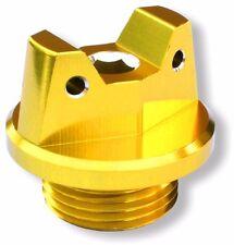 MotoSculpt Oil Fill Cap Plug for Suzuki DRZ125 DRZ250 RM85 RM125 RM250 - GOLD