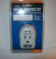 TRIPP LITE WALLMOUNT DIRECT PLUG IN 120V 1 OUTLET 600 JOULE SURGE PROTECTOR NEW
