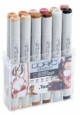 COPIC SKETCH MARKER PENS - 12 SKIN COLOURS SET - GRAPHIC ART MARKERS