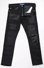 Junya Wantanabe Comme Des Garçons Black Patchwork Denim Jeans Size M 34x31 Japan