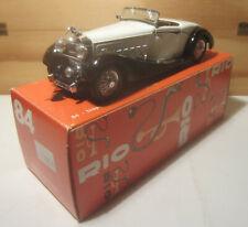 1663. RIO models N.83 HISPANO SUIZA V12 CLOSED CABRIOLET 1936 Classic box MB