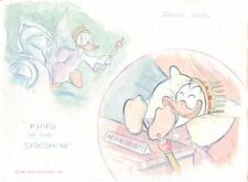 Disney Pat Block Art Original Watercolor Donald Duck Adventures 34 Recreate p. 3