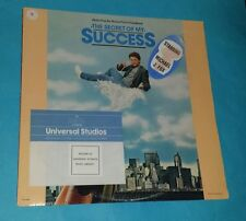 SECRET OF MY SUCCESS SOUNDTRACK GOLD STAMP PROMO LP WITH HYPE & RARE STICKERS
