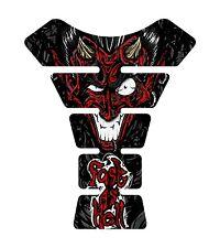 Fast as Hell Devil Black  Red Motorcycle Gel Gas tank pad tankpad protector