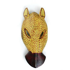 "Cheetah Mask 8""  African Home Room Decor US Seller"